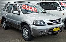 Ford Escape Zc Xls Australia