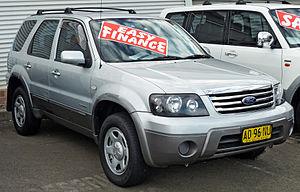 Ford Escape - Ford Escape (ZC) XLS (Australia)
