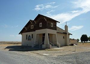 Colonel Allensworth State Historic Park - Image: 2009 0725 CA Allensworth 1st Bap