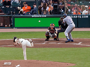 2010 World Series Game 1, Lincecum vs Guerrero.jpg