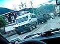 2011 China's Violence Troop and Trucks in Tawu, Tibet 中國在西藏 - 圖博康區道孚鎮壓西藏人民的軍卡運兵車.jpg