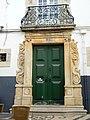 2012-09-25 Green Front door, Rua de Santo Antonio, Faro.JPG