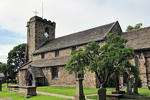 Whalley, Lancashire - Image: 2012 07 24 Whalley St. Mary's 13