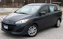 2012 Mazda5 Sport (US)