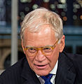 2012 President Barack Obama with David Letterman (cropped to Letterman collar).jpg