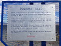 2014-10-08 14 46 54 Historic marker for Toquima Cave along Nevada State Route 376 (Austin-Tonopah Road) near U.S. Route 50 in Lander County, Nevada.JPG