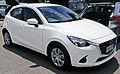 2014 Mazda 2 Neo - Snowflake White (15196979373).jpg
