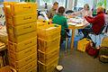 2015-02-23 Eintüten des Mitglieder-Rundschreibens Freundeskreis Hannover im Wikipedia-Büro ebenda.JPG