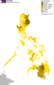 2015 Annual Corn Production of Philippine provinces.png