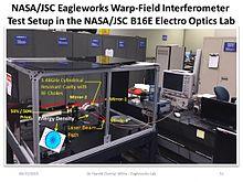 White–Juday warp-field interferometer - Wikipedia