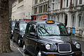 2016-02 Line of taxis london.jpg