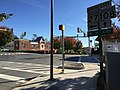 2016-10-14 10 03 05 View east along Maryland State Route 108 (Main Street) at Maryland State Route 27 (Ridge Road) in Damascus, Montgomery County, Maryland.jpg