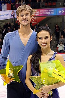 2017-18 Grand Prix (France) Chock and Bates.jpg