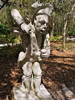 John and Mable Ringling Museum of Art - Stone statue