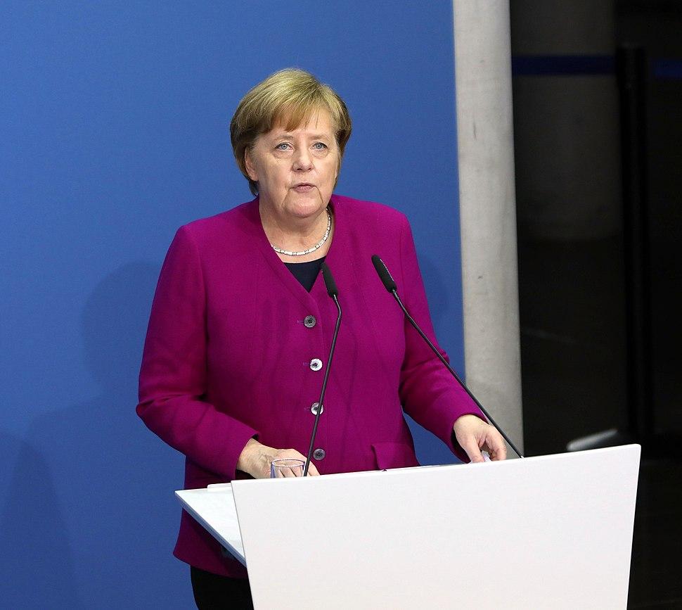 2018-03-12 Unterzeichnung des Koalitionsvertrages der 19. Wahlperiode des Bundestages by Sandro Halank–024