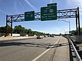 2018-05-21 08 50 52 View north along Interstate 95 (New Jersey Turnpike) just south of Exit 10 (Interstate 287 NORTH, New Jersey State Route 440 NORTH, Metuchen, Perth Amboy) in Edison Township, Middlesex County, New Jersey.jpg