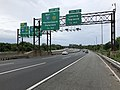 2018-07-21 17 47 34 View south along the local lanes of Interstate 95 (Bergen-Passaic Expressway) just north of Exit 70 (Leonia, Teaneck) in Leonia, Bergen County, New Jersey.jpg