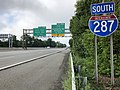 2018-07-28 08 48 00 View south along Interstate 287 between Exit 41 and Exit 40 in Parsippany-Troy Hills Township, Morris County, New Jersey.jpg