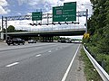 2019-05-27 13 26 08 View south along the inner loop of the Capital Beltway (Interstate 95 and Interstate 495) at Exit 17A (Maryland State Route 202 South-Landover Road, Upper Marlboro) in Summerfield, Prince George's County, Maryland.jpg