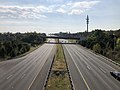 2019-10-02 10 24 05 View east along Virginia State Route 7 (Harry Byrd Highway) from the overpass for the ramp from Virginia State Route 28 northbound to Virginia State Route 7 westbound in Ashburn, Loudoun County, Virginia.jpg