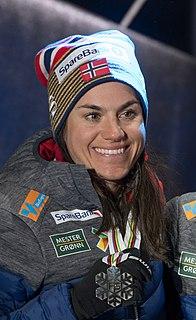 Heidi Weng Norwegian female cross-country skier and fell runner