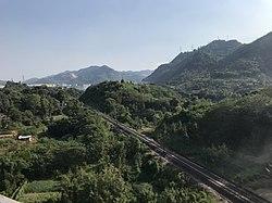 201908 Xiaonanhai-Chongqingxi Railway near Xiaonanhai.jpg