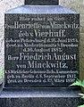 20200512120DR Dresden Neuer kath Friedhof Grabmal von Minckwitz.jpg