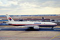 207cc - Malaysia Airlines Boeing 777-2H6ER, 9M-MRM@FRA,09.02.2003 - Flickr - Aero Icarus.jpg