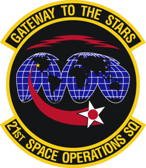 21st Space Operations Squadron - 21st Space Operations Squadron emblem