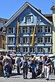 25 Jahre Gesellschaft zu Fraumünster - Mittelalter-Spectaculum - Münsterhof 2014-05-23 13-27-20.JPG