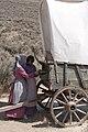 2 girls at wagon (14104697323).jpg