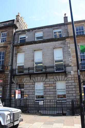 Mungo Ponton - Ponton's house at 30 Melville Street, Edinburgh