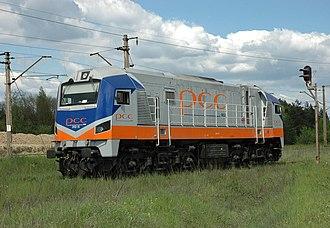PKP class ST40 - PCC Rail 311D-14 at KWK Janina