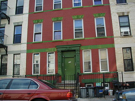 The television home of The Honeymooners at 328 Chauncey Street in Brooklyn