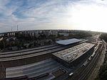 3 - Dzielnica mieszkaniowa Łódź Widzew i Dworzec Kolejowy Dji Phantom 3.JPG