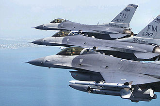 Homestead Air Reserve Base - Image: 482fw homestead f 16s