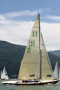 5.5 Metre FRA 46.JPG