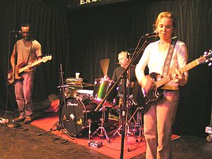 50 Foot Wave - Live in Seattle, 2004 Photo: Mike Baehr