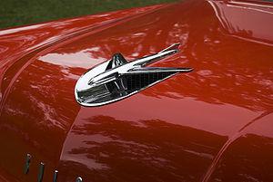 50 buick model hood