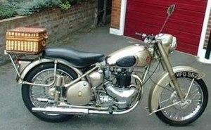 BSA motorcycles - 1957 BSA Golden Flash 650