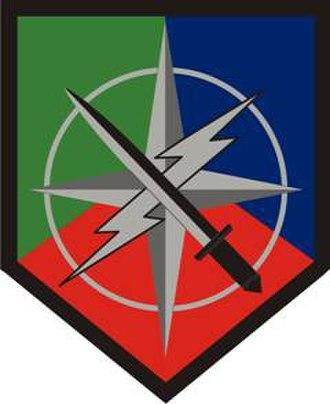 648th Maneuver Enhancement Brigade - 648th Maneuver Enhancement Brigade emblem