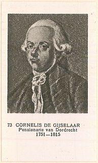 Cornelis de Gijselaar Dutch politician
