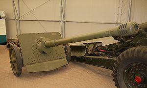 7.5 cm Pak 41 - A preserved 7.5 cm PaK 41