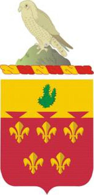 77th Field Artillery Regiment - Coat of arms