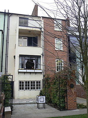 78 Derngate - The rear of 78 Derngate
