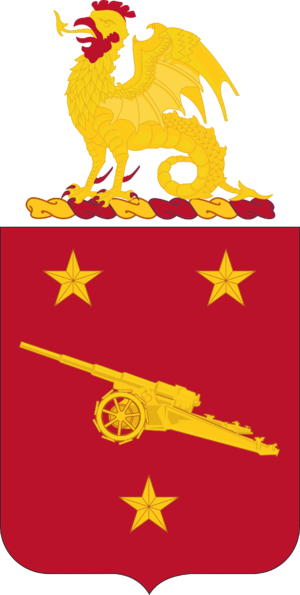 92nd Coast Artillery (United States) - Coat of arms