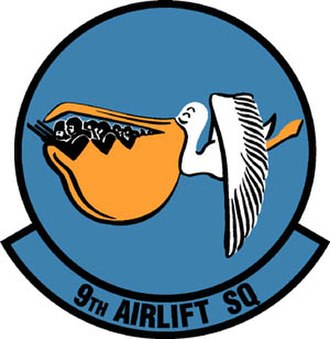 9th Airlift Squadron - Image: 9th Airlift Squadron