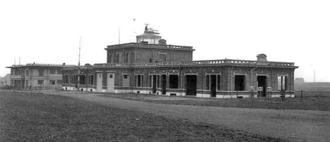 Haren Airport - The airport terminal in 1929