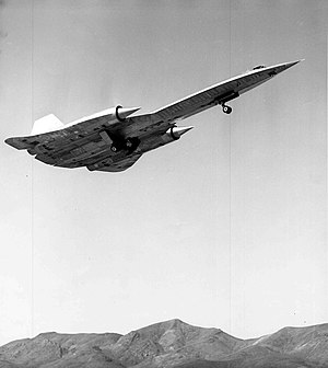 Area 51 - An A-12 (60-6924) takes off from Groom Lake during one of the first test flights, piloted by Louis Schalk, 26 April 1962
