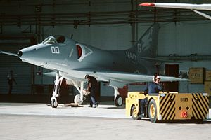 A-4 Skyhawk VC-8 in hangar at NS Roosevelt Roads 1986.JPEG